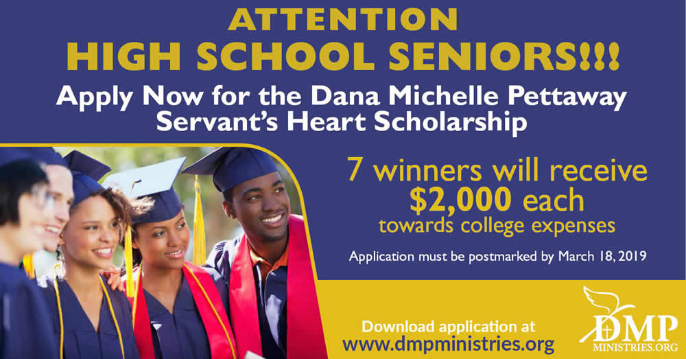 DMP Scholarship Announcement