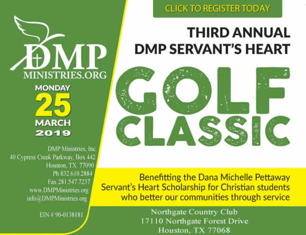 Third Annual DMP Servants Heart Golf Classic
