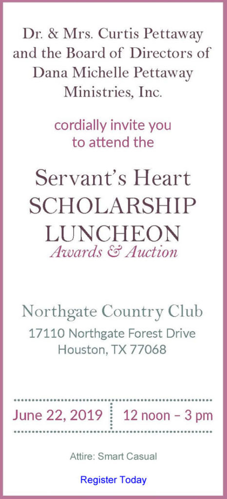 Come Join DMP Scholarship Luncheon - June 22 2019