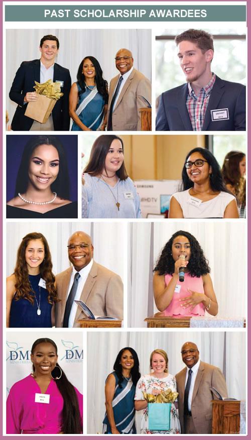 DMP Past Scholarship Awardees
